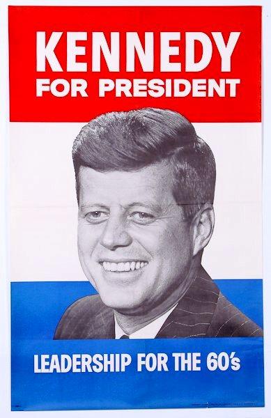 1960-j.F.K.-Campaign-Poster