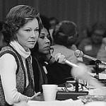 Rosalynn Carter chairing presidential Mental Health Commission
