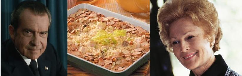 Dick and Pat Nixon's Hot Potato Chip Chicken Salad.