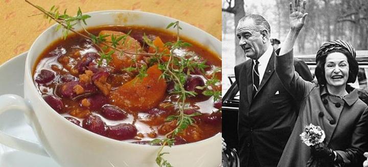 Lyndon and Lady Bird Johnson's Pedernales SRiver Chili