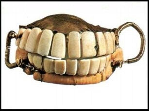George Washington's dentures.