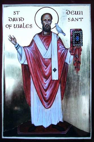 St. David of Wales.