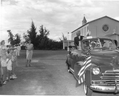 Harry Truman on Cuban soil, 194.